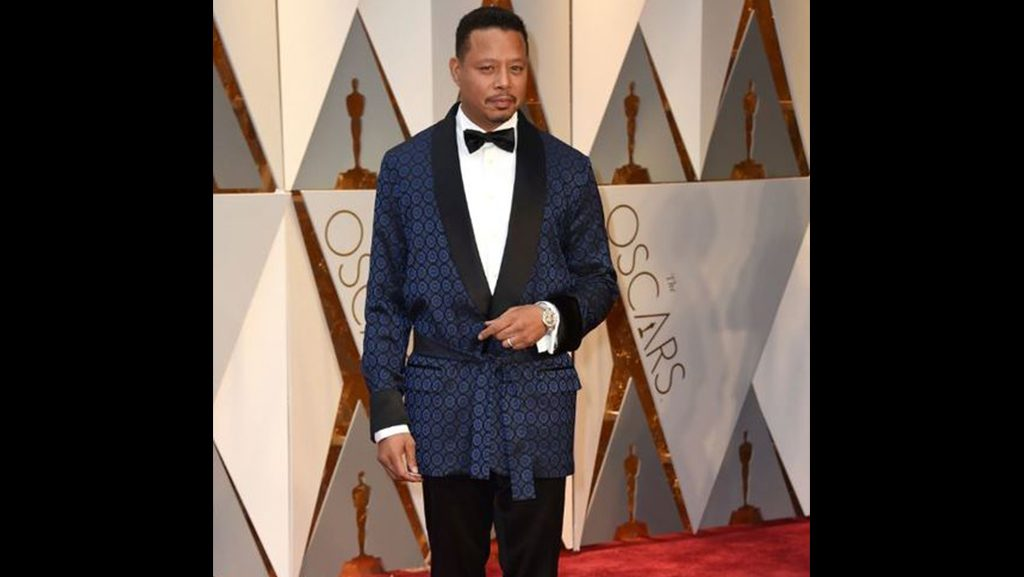 El traje de Terrence Howard.